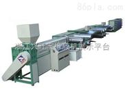 供应PP塑料拉丝机、编织生产成套设备