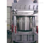 出口600T高温平板硫化机