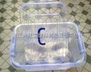 供应A型小3号折叠式周转箱 670*450*275 透明塑料箱 物流箱周转箱