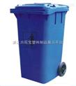 恒溢环卫器材厂供应 660升户外环保塑料垃圾箱 翻盖垃圾桶