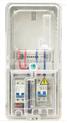 塑料電子電表箱帶回路 塑料電表箱 單相電子表箱  PC電表箱 空箱