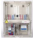 供应配电箱塑料电表箱 塑料 玻璃钢 透明电表箱 单相 三相 图