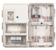 供應透明塑料電表箱(單相十二戶電子式)左右結構