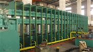供应大型框板式平板硫化机,输送带平板硫化机