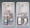 单相十二表位电表箱 电表箱 塑料电表箱 单相电表箱 透明电表箱
